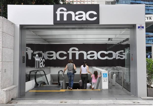 Loja Fnac na Avenida Paulista, em São Paulo: uma das 12 unidades da empresa francesa no Brasil (Foto: Reprodução/Facebook/Fnac )