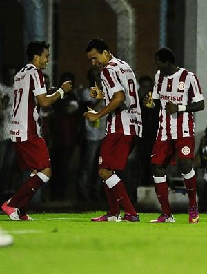 Leandro Damião contra o São Luiz (Foto: Alexandre Lops / Inter, DVG)