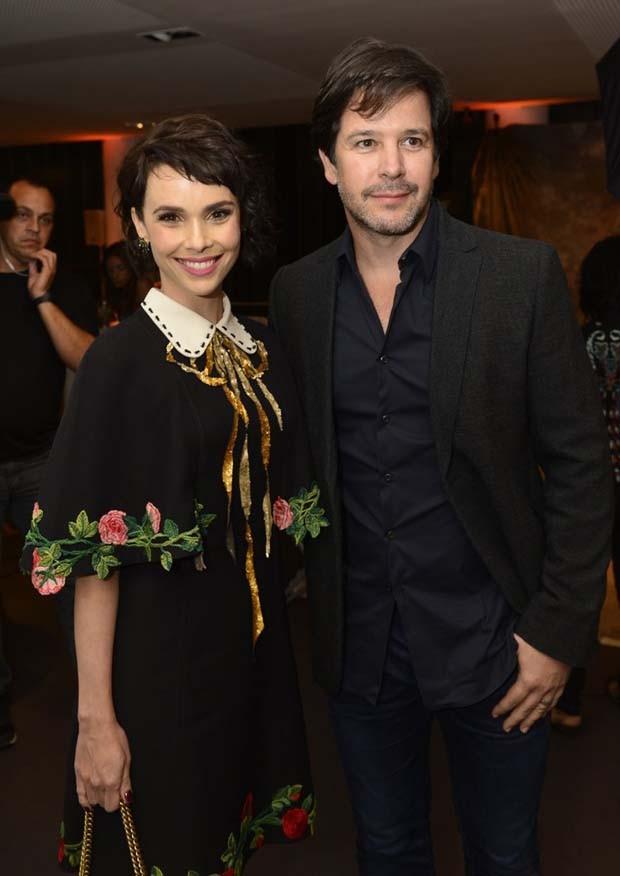 Débora Falabella e Murilo Benício (Foto: Fabio Cordeiro/Ed. Globo)