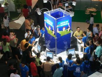 Na Arena Virtual, participantes terão minicursos sobre negócios digitais (Foto: Rodrigo Moreira/Divulgação)