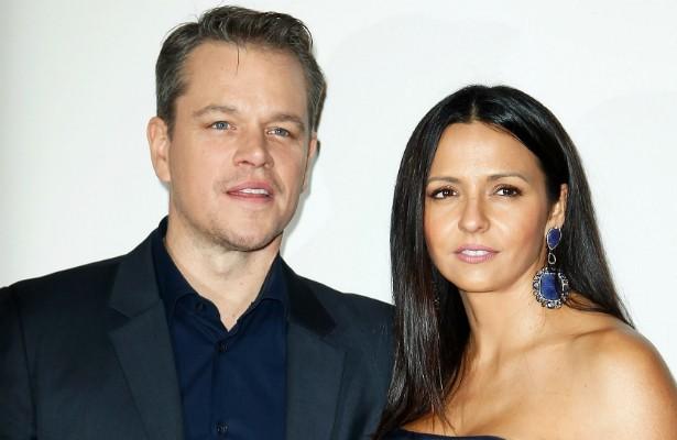 """""""Amo estar casado com minha esposa — ela é a melhor coisa que já aconteceu comigo."""" É com frases assim que o ator Matt Damon fala à imprensa sobre sua mulher, a argentina Luciana Barroso. (Foto: Getty Images)"""