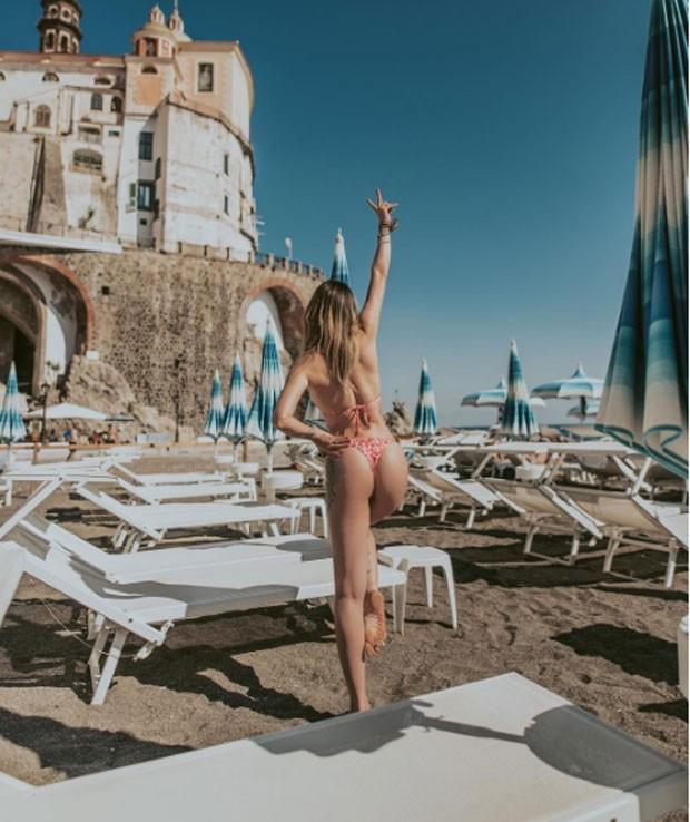 Aline Gotschalg: férias na Itália (Foto: Reprodução Instagram)