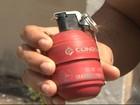 Explosão de granada durante curso de formação da PM deixa 5 feridos