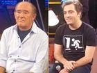Renato Aragão e Gregório Duvivier discordam de piadas sobre religião