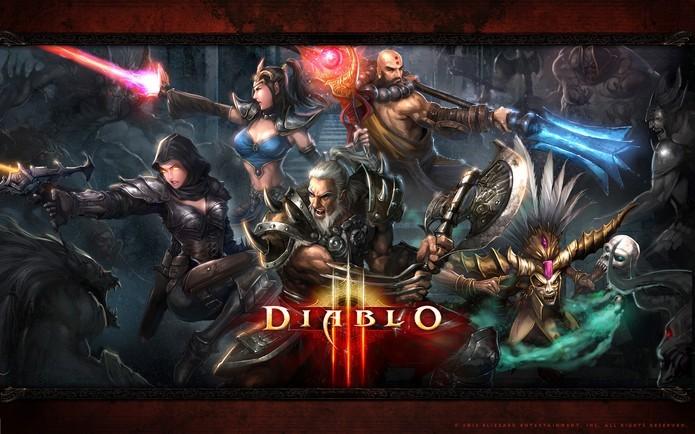 Os heróis de Diablo 3 devem ir para a batalha e acabar com o avanço das tropas do inferno (Foto: Divulgação/Blizzard)