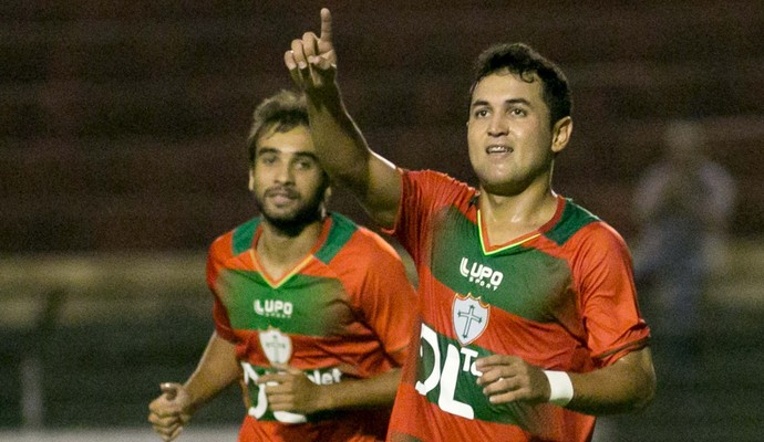 0a1642f7ef Wanderson gol Portuguesa (Foto  Rodrigo Gazzanel   Ag. Estado)