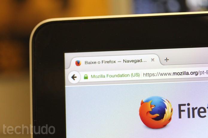 Firefox_Tela (Foto: Melissa Cruz / TechTudo)