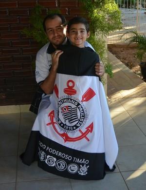 Francisco Netto e o filho Fernando (Foto: Duaine Rodrigues)