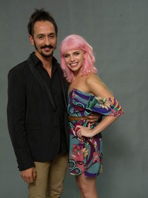 Irandhir Santos e Bruna Linzmeyer (Foto: Globo / Estevam Avelar)