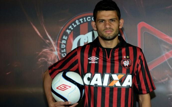 Jadson Atlético-PR (Foto: Divulgação/Atlético-PR)