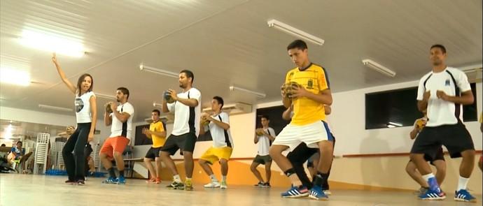 handebol ufpi (Foto: Reprodução/Tv Clube)