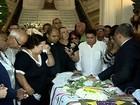 Fãs se despedem de Emílio Santiago com missa na Câmara do Rio