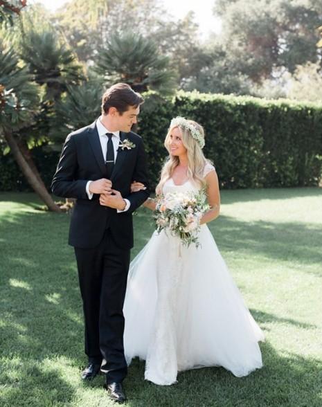 Ashley Tisdale e Christopher French (Foto: Reprodução)