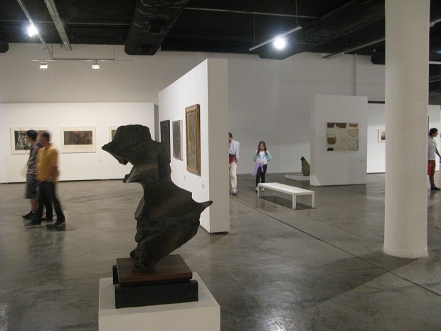 Mam abriga pinturas e esculturas de artistas modernistas. (Foto: Leonardo Neiva/G1)