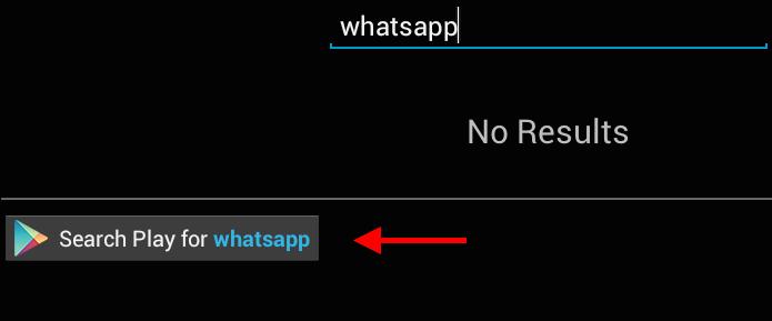 Pesquisando pelo WhatsApp (Foto: Reprodução/Helito Bijora)