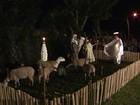 Agricultores viram cantores e atores para encenar nascimento de Jesus