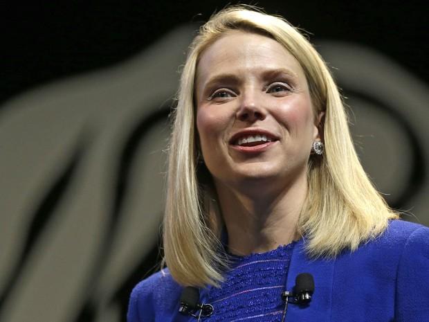 Marissa Mayer, presidente-executiva do Yahoo. (Foto: Lionel Cironneau/AP)