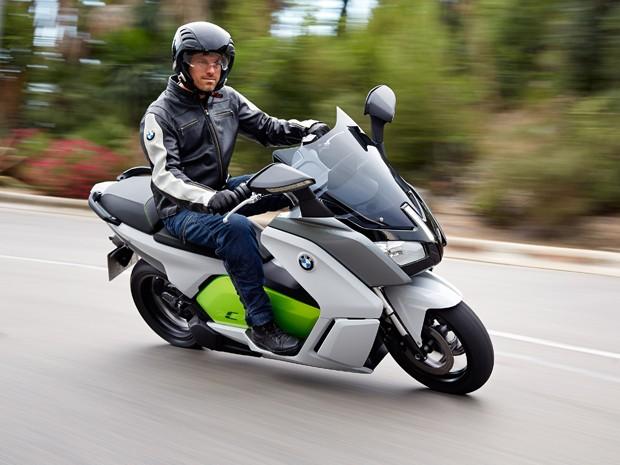 8f1d210820c G1 - BMW revela seu 1º scooter elétrico de produção no Salão de ...