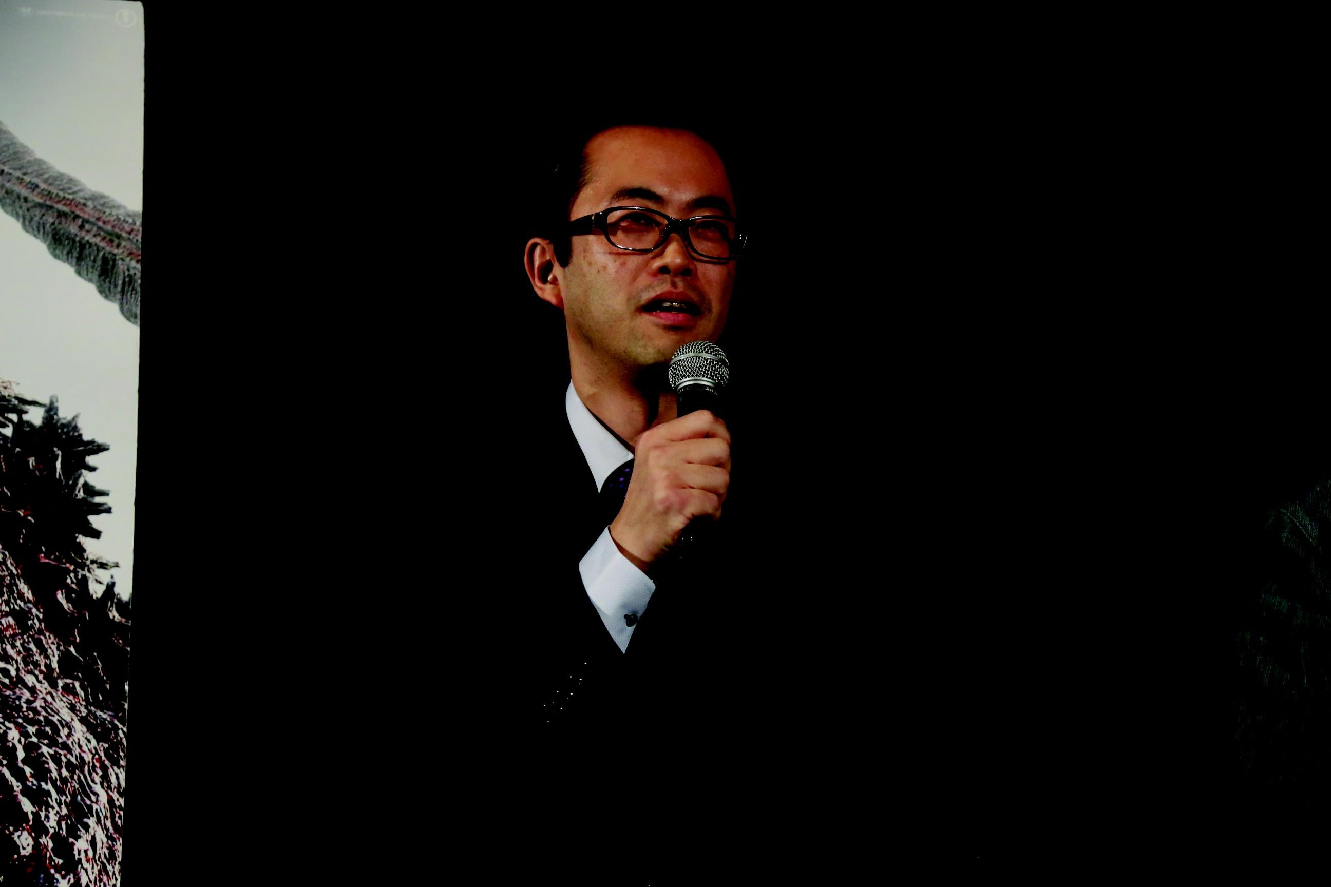 Akihiro Yamauchi, produtor de 'Shin Godzilla' (Foto: 2016 TIFF)