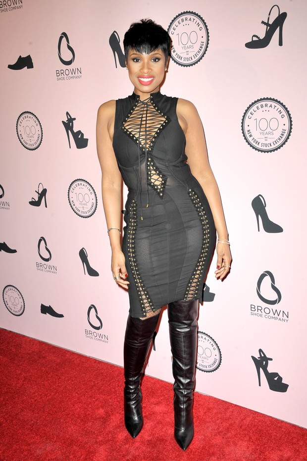 Jennifer Hudson em evento em Nova York, nos Estados Unidos (Foto: Chance Yeh/ Getty Images)