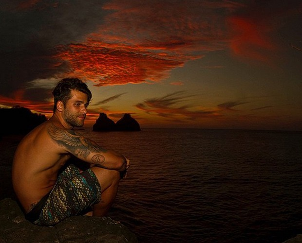 Bruno Gagliasso com um visual deslumbrante (Foto: Arquivo Pessoal)