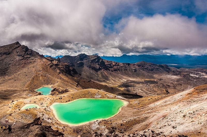Parque Tongariro, na Nova Zelândia (Foto: Marcus Holland-Moritz/ Wikimedia Commons)