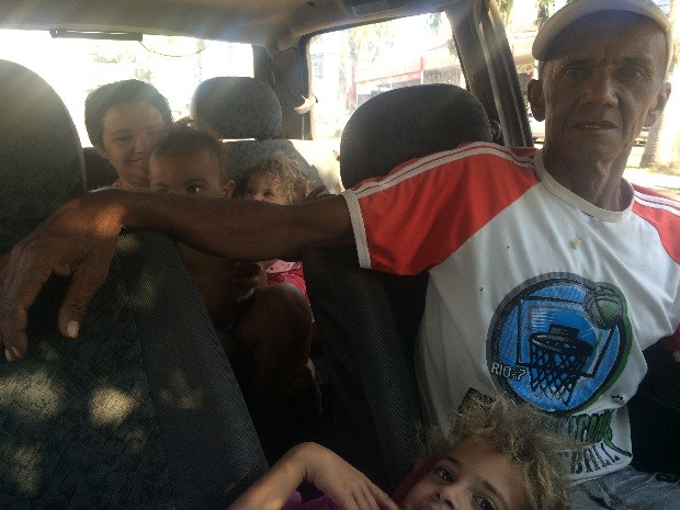 Família se mudou para Goiânia para manter tratamento da mulher Goiás (Foto: Vanessa Martins/G1)