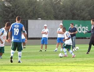 Treino do Palmeiras (Foto: Diego Ribeiro / Globoesporte.com)