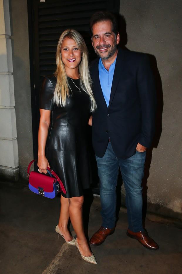 Leandro Hassum e Karina Gomes (Foto: Manuela Scarpa/ Brazil News)