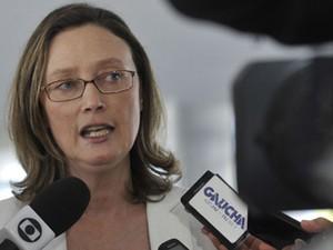 A ministra da Secretaria de Direitos Humanos, Maria do Rosário (Foto: Antonio Cruz/ABr)