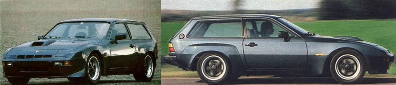 Porsche 924 Shooting Brake