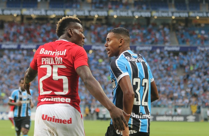 Gre-Nal 412 Grêmio Inter Arena Gauchão Paulão Pedro Rocha (Foto: Diego Guichard / GloboEsporte.com)