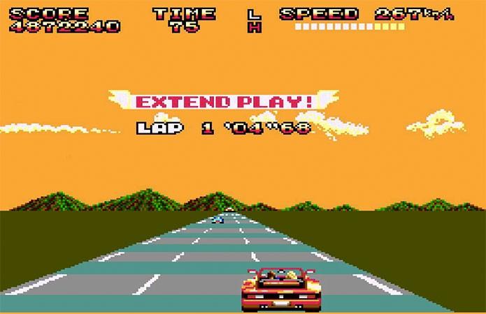 O Out Run do Master System era compatível com óculos 3D (Foto: Reprodução/GamesDBase)