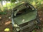 Casal que viajava a Guarapari fica ferido em acidente no ES