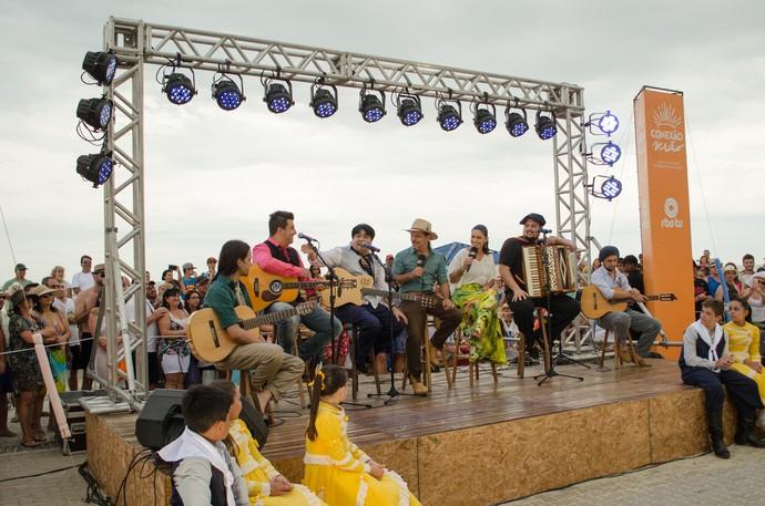 Galpão Crioulo Capão da Canoa (Foto: Rafael Peçanha/RBS TV)