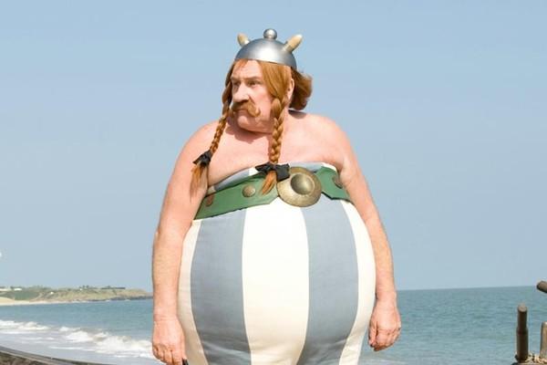 Gérard Depardieu como o famoso personagem Obelyx (Foto: Divulgação)