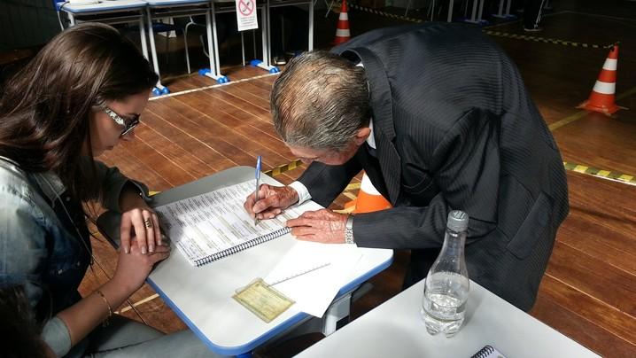 Felizberto Martins, eleições, votação