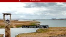 G1 RN faz reportagem sobre a seca histórica no interior do estado (G1 RN/ Reprodução)