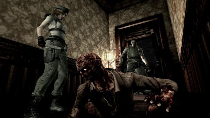 Resident Evil HD (Foto: Divulgação)