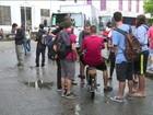 Enem tem 1º dia de prova no Rio em sábado de chuva e sem tumultos