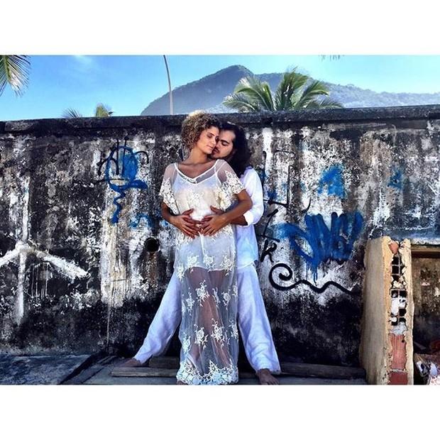 Laura Fernandez e Francisco Gil (Foto: Reprodução/ Instagram)