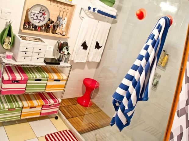Como decorar um banheiro pequeno  Casa  GNT -> Gnt Banheiro Pequeno