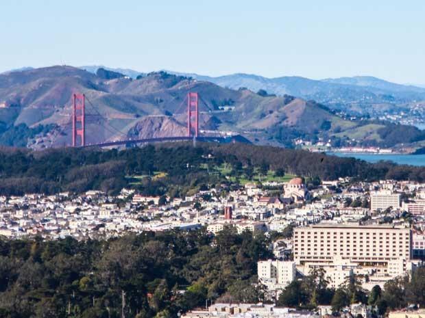 A cidade de San Francisco, um dos pontos principais de Geração Brasil (Foto: Aline Kras/TV Globo)