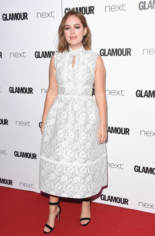 Tanya Burr no Glamour Awards 2017 (Foto: Stuart C. Wilson/Getty Images)