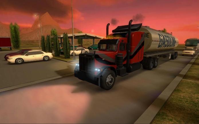 Truck Simulator 3D é dos mesmos criadores de Bus Simulator (Foto: Divulgação/Ovidiu Pop)