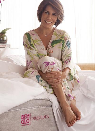 Gloria Pires participa de todas as etapas dos produtos da sua marca (Foto: Divulgação)
