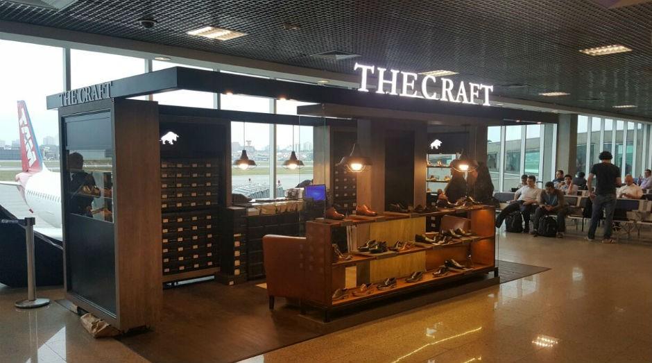 Loja da The Craft no aeroporto de Congonhas, recém inaugurada  (Foto: Divulgação)