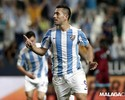 Atacante brasileiro é autor de todos os gols do Málaga na Liga Espanhola