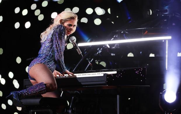 Lady Gaga no SuperBowl (Foto: Getty Images)