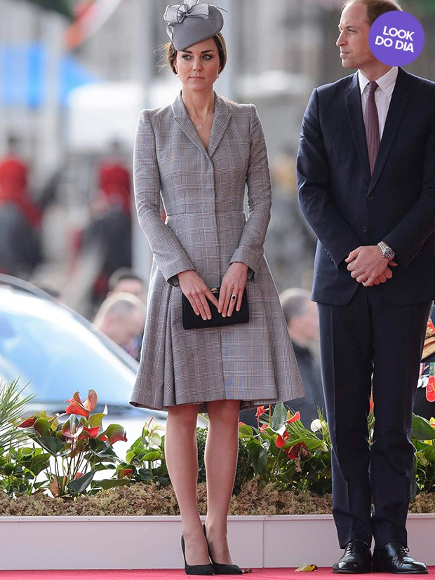 Kate Middleton - Look do Dia (Foto: Agência Reuters)